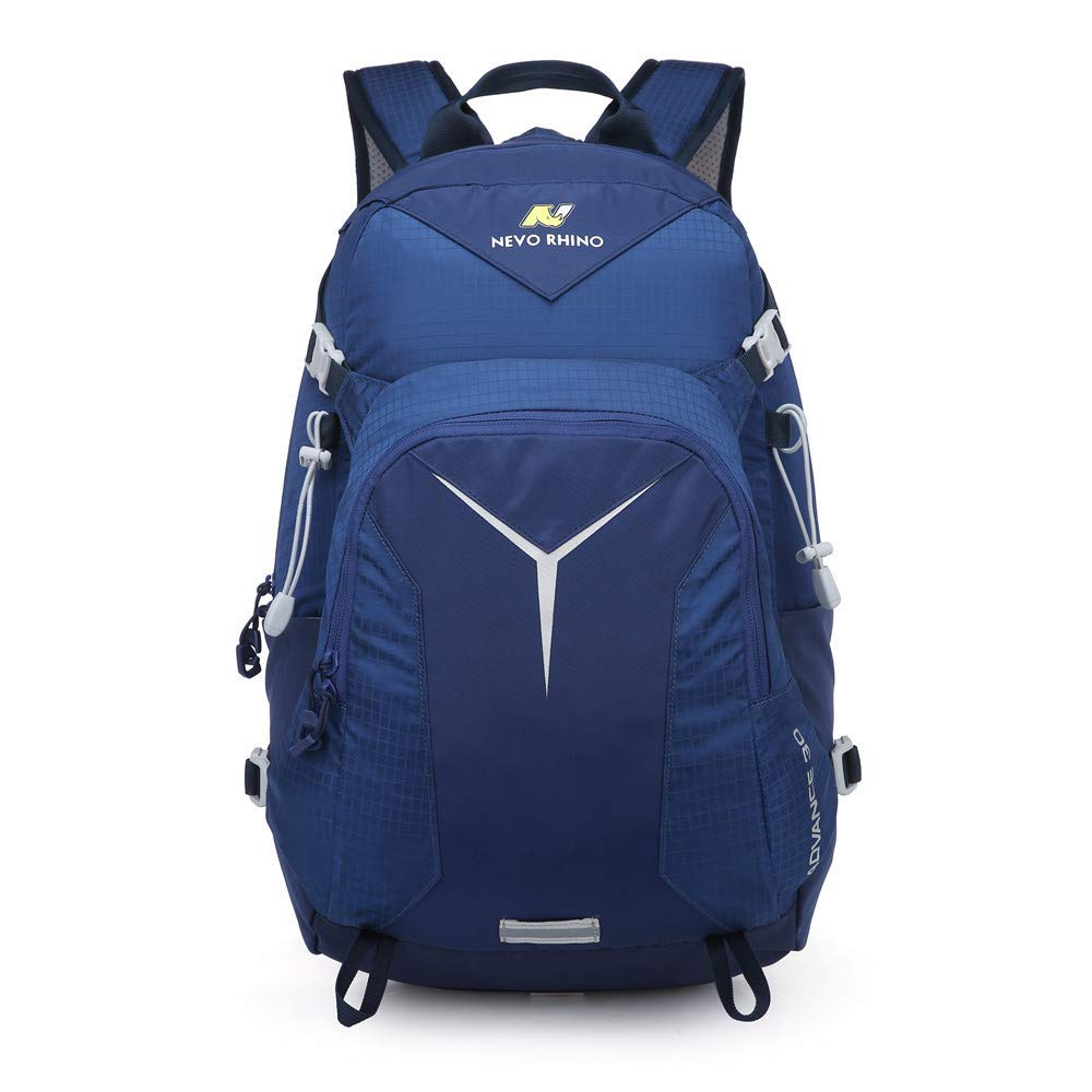 NEVO Rhino 30L//25L Lightweight Gym Packable//Foldable Hiking Daypack Backpack ,Wet and Dry Isolation ,Camping ,Backpacking.