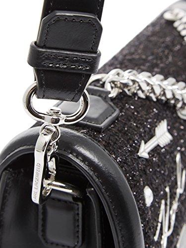 Noir à Sac femme Karl Lagerfeld porter pour à Noir l'épaule x4CnAqUw8