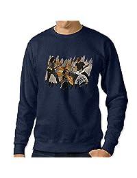 C2Ucdi Men's Metallica Rock Music Hooded Sweatshirt