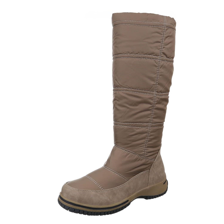 Ital-Design Damen Schuhe, B31001-25, Stiefel Warm Gefütterte Boots:  Amazon.de: Schuhe & Handtaschen