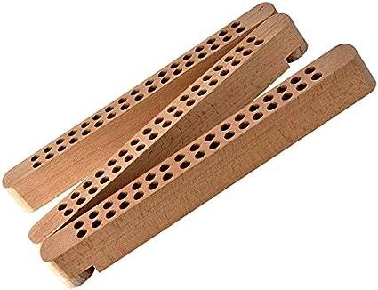 pieghevole Nuovo supporto per penne e pennelli in legno