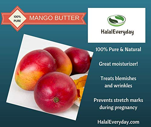 Mango Butter White Raw, 1 Lb -