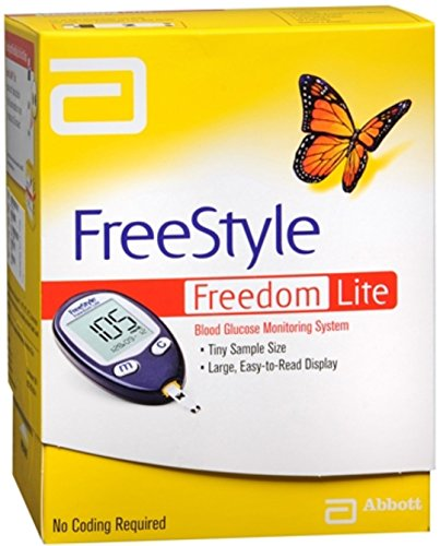 FreeStyle Freedom Lite Blood Glucose Monitoring System 1 Each (Pack of 10)