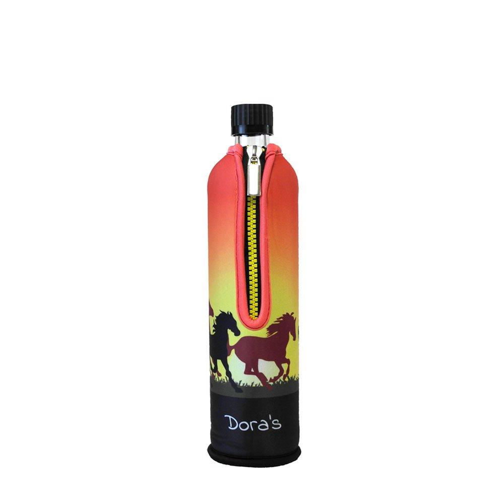 Biodora Doras Glasflasche mit Neoprenbezug 500ml