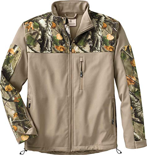 Legendary Whitetails Mens Hurricane Softshell Jacket Twig XX-Large