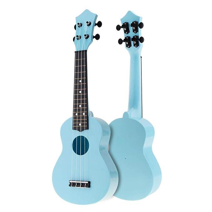 NIMEDI Ukelele Banda Sonora Ukelele Uke 4 Cuerdas Guitarra De ...