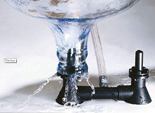 Lavabottiglie Double-Blast - Sciacquabottiglie Double-Blast - Fermtech - Avvinatore - per bottiglie da birra - Lavabottiglie Blaster, sanificazione delle bottiglie Alcofermbrew