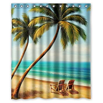 Amazon 60 X 72 Beach Chairs Waterproof Bathroom Fabric Shower