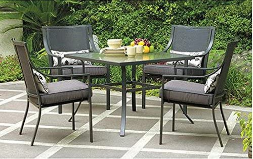 Gramercy Home 5 Piece Patio Dining Table Set