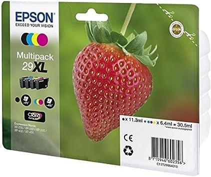 Epson C13T29964022 - Cartucho de tinta, multi-pack XL: Epson: Amazon.es: Electrónica
