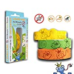 Lizard King Anti Mosquito Bracelet for Kids – Natural Mosquito Repellent for Children with Citronella Oil. Extra Safe, No Deet. Kids Love Them! hours of Long Lasting Mosquito Protection. Perfect for Outdoor Events, Sports, Playtime, Camping, Hiking, Gardening, Picnics, and more. Colors may vary. (1 Bracelet) 168