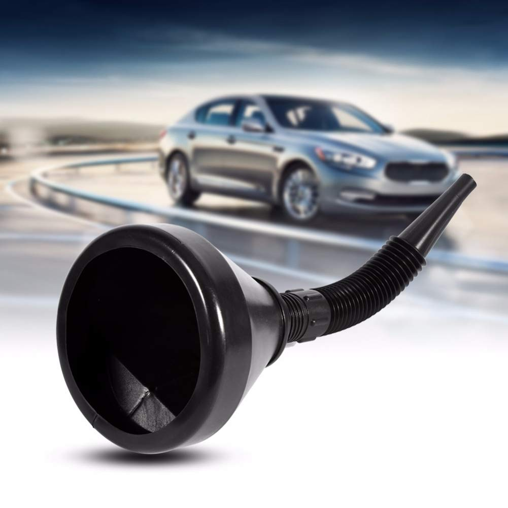 with filter lymty Flexible Funnel self-driving emergency tool fuel tank car and motorcycle fueling funnel