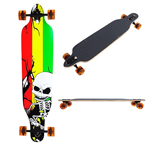 - AW Canadian Maple Pro Longboard Complete 41x 9.75 Cruiser Speeding Skateboard Downhill Maple Deck Fashion Sport