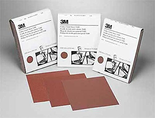 3M (19764) Utility Cloth Sheet 314D, 9 in x 11 in P320 J-weight [You are purchasing the Min order quantity which is 50 Sheets]