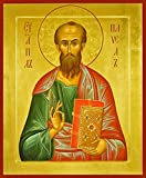 St. Paul the Apostle Traditional Panel Russian Orthodox icon