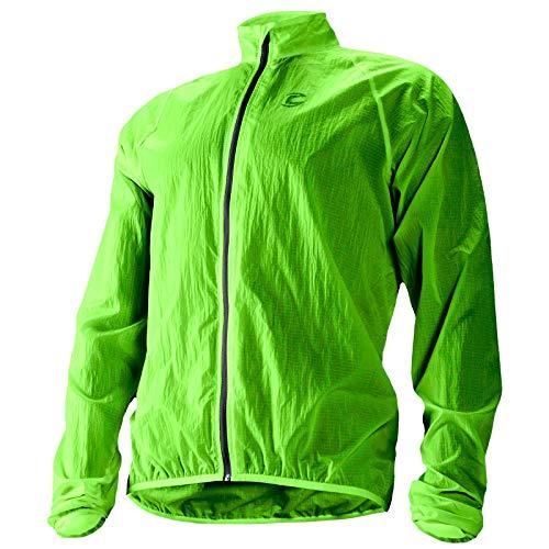 Cannondale Men's Pack Me Jacket, Berzerker Green, Large