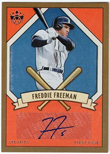 Freddie Freeman 2019 Panini Diamond Kings 205 Signatures Auto Atlanta Braves Autograph