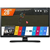 "TV Monitor Smart 28"", LG, 28MT49S-PS, Preto"