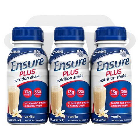 Supplements Nutritional Ensure (ENSURE PLUS NUTRITIONAL SHAKE VANILLA 8 OZ BOTTLES 6 CT)