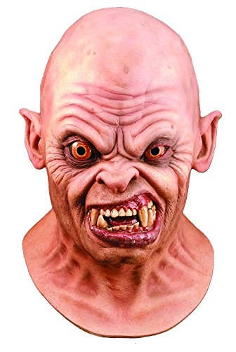 Trick or Treat Studios Men's An American Werewolf In London-Bald Demon Mask, Multi, One (Werewolf In London Costume)