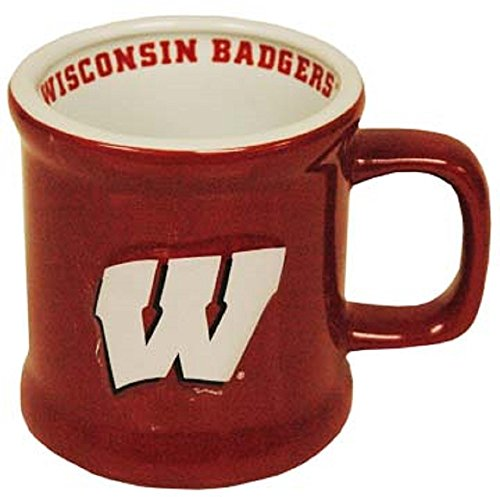 (Game Day Outfitters University of Wisconsin Badgers Ceramic Mug)