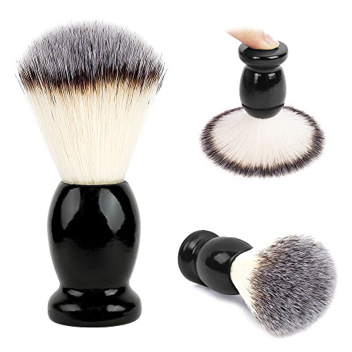 (Premium Shaving Brush, Handmade Men's Luxury Shave Brush, Professional Hair Salon Tool, Engineered for the Best Shave of Your Life)