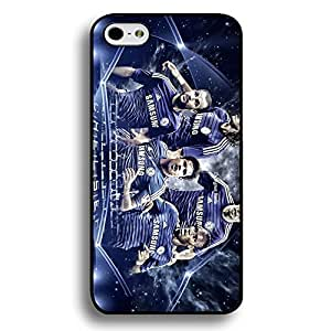 Iphone 6/6S Case,Chelsea Football Club Logo Protective Phone Case Black Hard Plastic Case Cover For Iphone 6/6S
