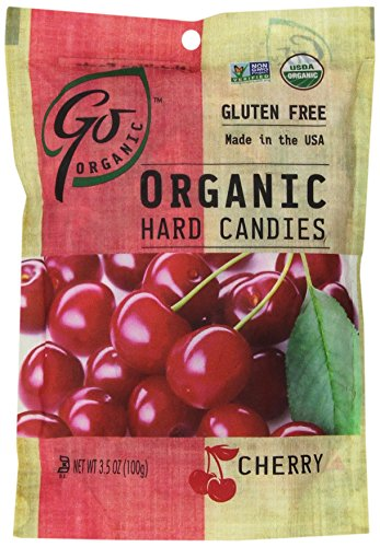 (GoNaturally ORGANIC HARD CANDIES (Cherry) (1 x 3.5)