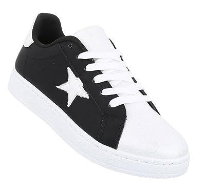 3184bc4a3e792d Schuhcity24 Damen Sneakers sportlich