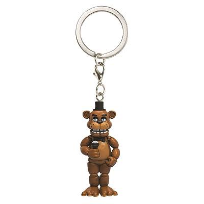 Funko Five Nights at Freddy's Freddy Keychain: Funko Pocket Pop! Keychain:: Toys & Games