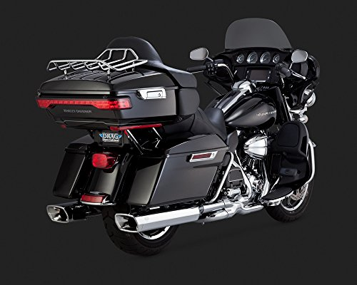 Vance & Hines Monster Squared Slip Ons Chrome 16851 ()