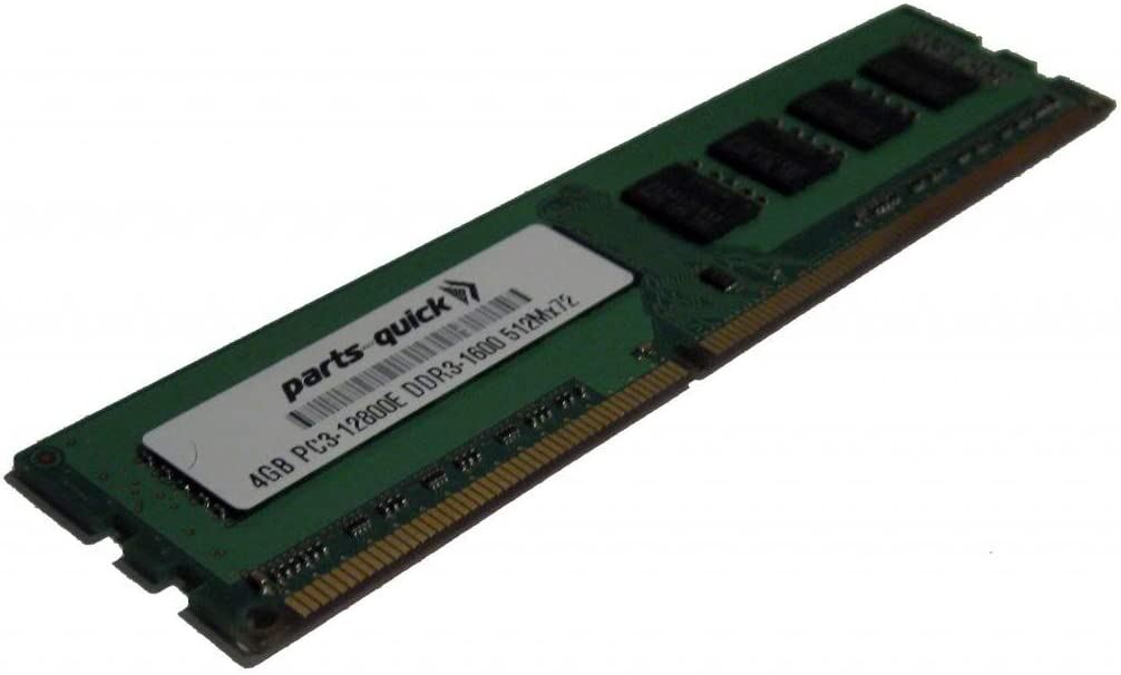 4GB Memory for Dell Precision Workstation T1600 DDR3 PC3-12800E ECC RAM Upgrade (PARTS-QUICK Brand)