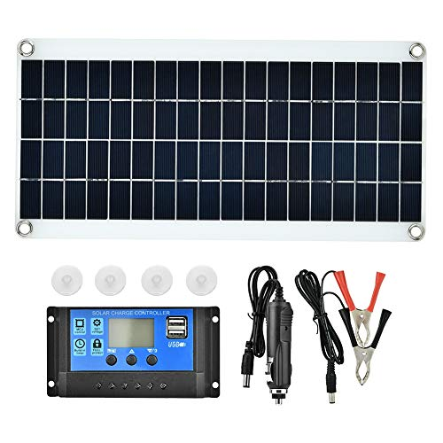 20W New Solar Panel Polycrystal Solar Cell Ideal for DIY Home, Scientific Projects, Solar Energy Systems -