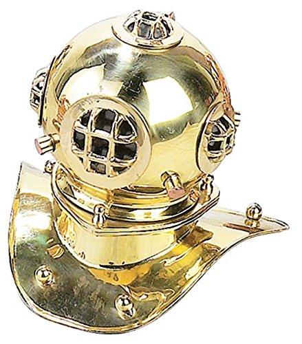 Deco 79 Diving Helmet, 8-Inch, Brass