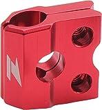 ZETA Anodized Aluminum RED Brake Line Clamp KX KXF