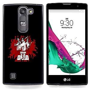 For LG Volt 2 / LG G4 Mini (G4c) - cool funny movie of dead fight black red /Modelo de la piel protectora de la cubierta del caso/ - Super Marley Shop -
