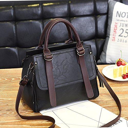 Package Package À Femme KLXEB Bandoulière Unique Paquet L'Automne À Sac Femme Sac Sac Le Black Diagonale qP7PA8wXg