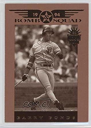 Amazoncom Barry Bonds Baseball Card 1994 Donruss Triple Play