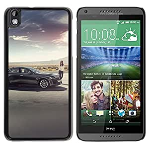 New Custom Designed Cover Case For HTC Desire 816 With Ak Cadillac Cts V Car Supercharged Phone Case