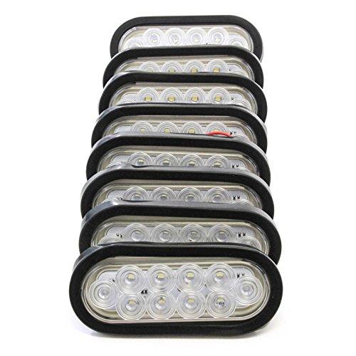Clear Led Backup Lights - 7