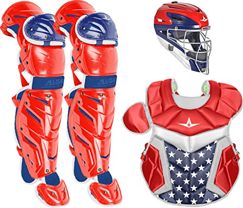Blue Catchers - All-Star Inter System7 Axis USA Pro Catcher's Set