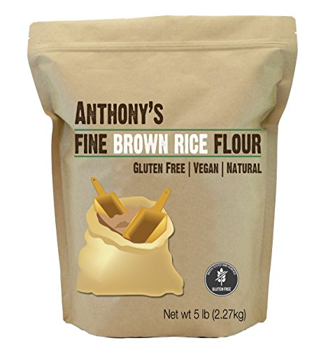 Brown Rice Flour (5 Pounds) by Anthony