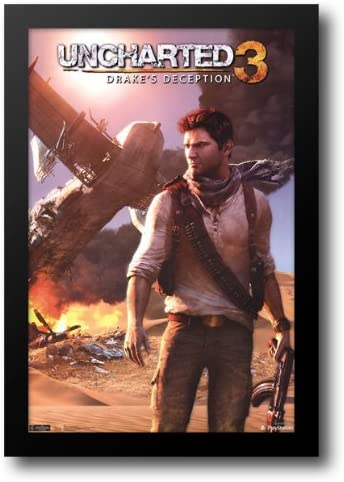 Amazon Com Uncharted 3 Drake S Deception 26x38 Framed Art Print