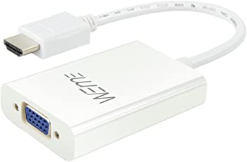 Weme Active HDMI to VGA Adapter with Micro USB Port