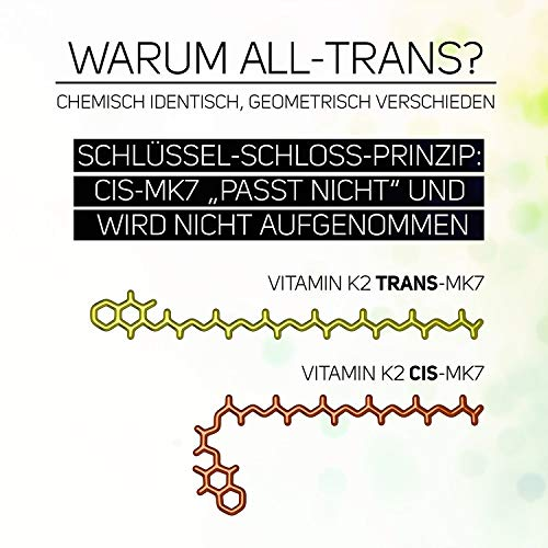 Vitamina K2 200?G (menaquinone MK-7 Natural) (90 pastillas vegetales (): Amazon.es: Salud y cuidado personal