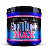 Gaspari Nutrition Super Pump Max, Pre Workout 30 Servings, Non-Habit-Forming, Sustained Energy & Nitric Oxide Booster Supports Muscle Growth, Recovery & Replenishes Electrolytes, Pink Lemonade New!