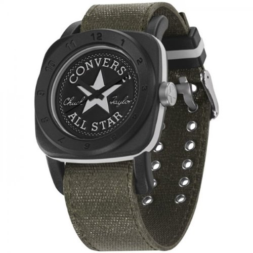 UPC 813928013225, Converse 1908 Premium Watch - VR026 (LG BLK CASE/KHAKI WAXED CANVAS)