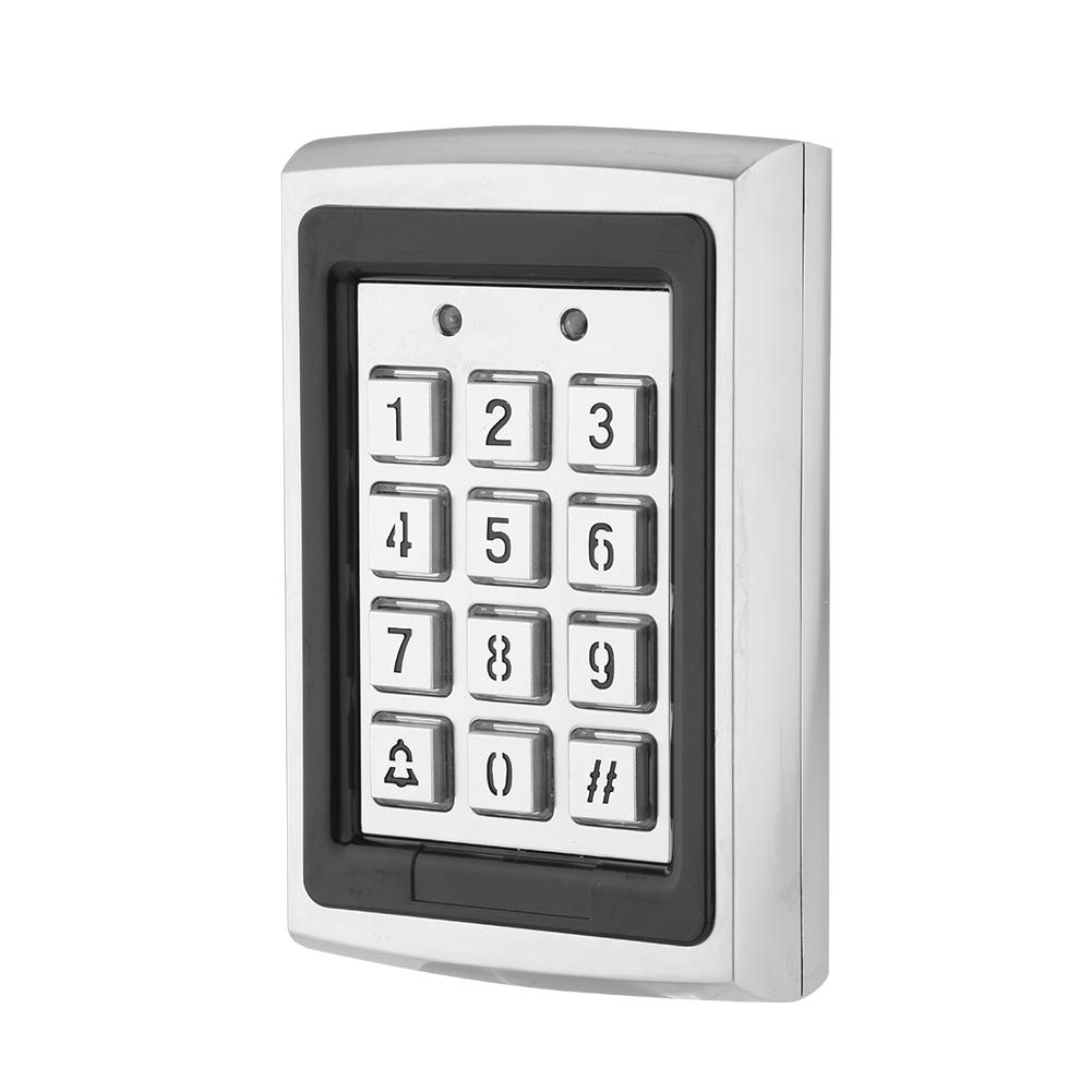 Residential Area etc Suitable for Home Support Cards//Code//Card+Code Unlocks Office Zopsc DC 12V RFID Card Door Access Control Keypad Security Door Access Control with Backlight
