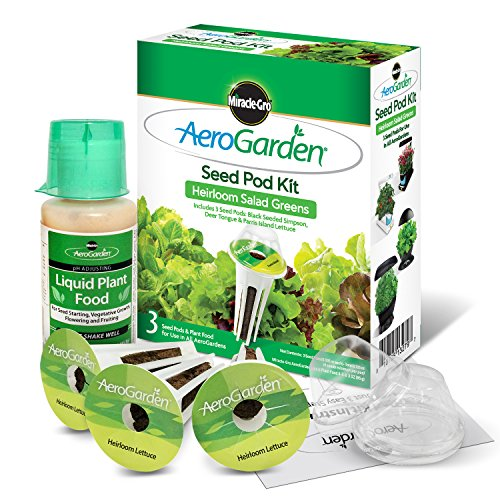 51DFfUwJD8L - Miracle-Gro AeroGarden Heirloom Salad Greens Seed Pod Kit