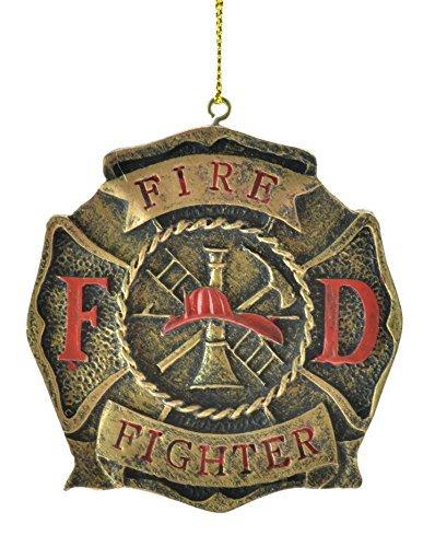 Fireman Medallion Ornament